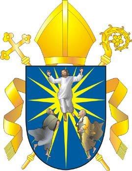 Неофициальный герб Преображенской епархии, автор - А.Ю. Журавков