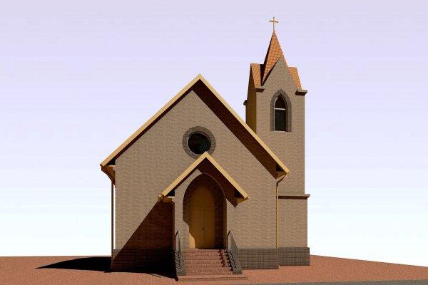 Так будет выглядеть новый храм